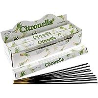 Stamford Citronela Incienso, 20 palos x 6 paquetes