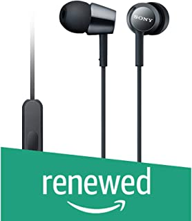 (Renewed) Sony MDR-EX150AP1 In-Ear Headphones with Mic (Special Black) - an Amazon Exclusive
