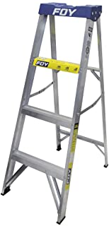 Surtek ETF3 Foy Escalera de Aluminio Tipo Tijera, 3 Escalone