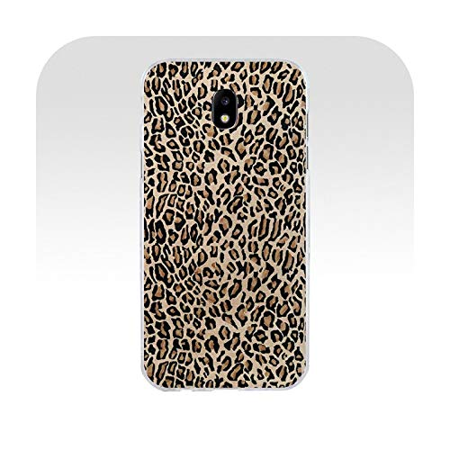Phonecase Fashion Tiger Leopard Print Soft Silicona TPU Cover Phone Case for Samsung J3 J5 J7 2016 2017 A3 2016 A5 2017 A6 2018-11-For Galaxy J3 2016
