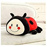 EREL Juguetes de Peluche Juguetes Suaves Linda Ladybug Pillow Almohada Creativa Super Soft Muñeca So...
