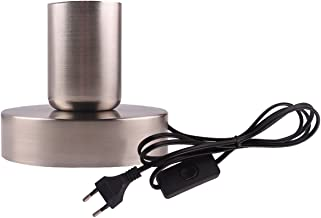 YSJJAXR Lamphouder Industriële Tafellamp Basis Plafondlamp Holder1.8m E27 E26 Socket Lamp Houder EU Plug Hanglamp Hoofdste...