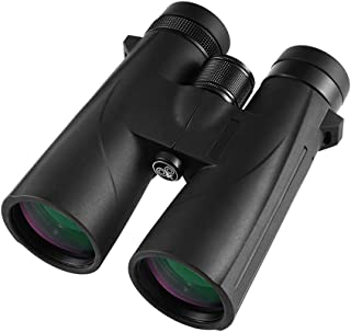 Image of Professional Binoculars Low-Light Night Vision Filled with Nitrogen Waterproof Bak-4 Binoculars HD 10X42 Zoom Telescope for Outdoor Camping Hunting Bird Watching