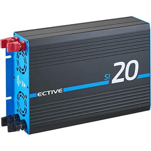 ECTIVE 2000W 24V zu 230V Sinus-Wechselrichter SI 20 mit reiner Sinuswelle in 7 Varianten