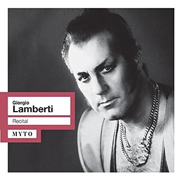 Giorgio Lamberti Recital (Live)