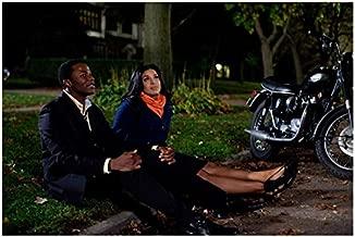 Sparkle Jordin Sparks Sitting on Grass with Derek Luke 8 x 10 inch Photo