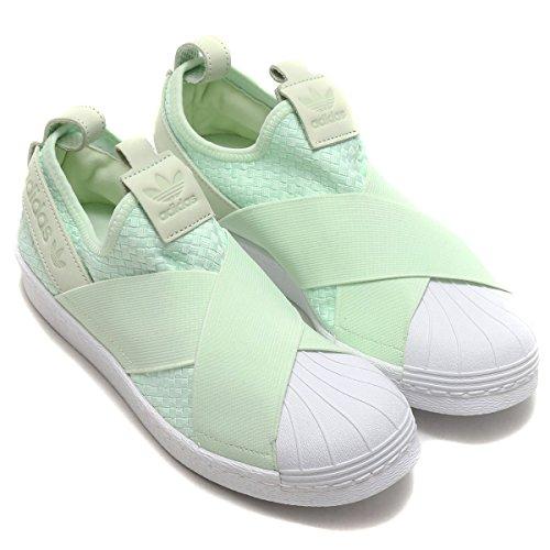 [アディダス] スーパースター スリッポン (adidas ORIGINALS SS SlipOn) エアログリーン/エアログリーン/ランニングホワイト CQ2488 日本国内正規品 24.5cm