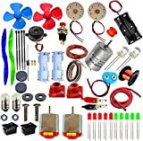 65 Items Loose Parts Materials Science Project Kit. Best Educational And Learning Kit With 65 Components. Item List Is Provided With The Kit. Manual Not Included. Student Apply Their Own Creativity. Find Our Other Kits For More Materials.