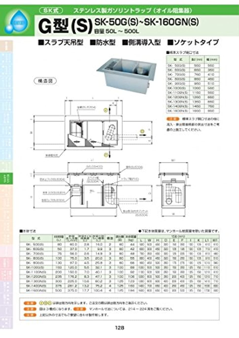 本を読む寛容アーティキュレーションG型(S) SK-110GN(S) 耐荷重蓋仕様セット(マンホール枠:ステンレス / 蓋:溶融亜鉛メッキ) T-6