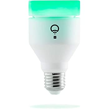LIFX + (E27) Bombilla de luz LED inteligente Wi-Fi con infrarrojos para visión nocturna, ajustable, multicolor, regulable, no requiere concentrador, funciona con Alexa, Apple HomeKit, Google Assistant