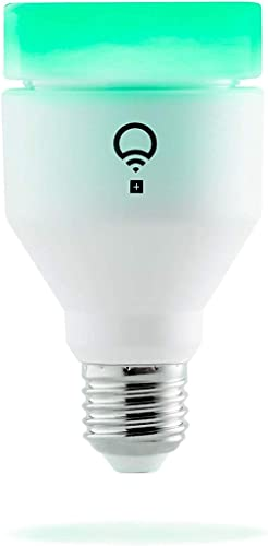 LIFX + (E27) Wi-Fi Smart LED Light Bulb with Infrared for Night Vision, Adjustable, Multicolour, Dimmable, No Hub Req...