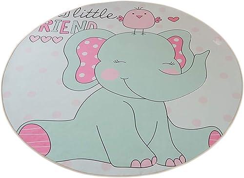 HLMIN Tiermuster Babyspielmatte Helle Farben Kinder Imagination F ern Schlafzimmer Weißes Material Nicht Giftig (Farbe   C, Größe   120cmx120cm)