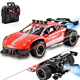 ZAYOR Remote Control Car for Kids, 1: 16 Scale High Speed Race Drift RC Cars Toy 2.4GHz Remote Control Cool LED Light RC Car, Outdoor Toys Gift for Boys Age 5 6 7 8 9 10 11
