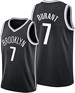 Sports Men's Jersey,Brooklyn Nets # 7 Kevin Durant Basketball Jersey,Breathable Wearable Competition Jersey,Gift for Fans,XL