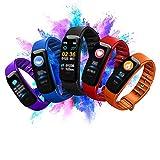 Fitness Tracker Digital Watch for Girls Boys Teens Women, Smart Bracelet w/Heart Rate Blood Pressure Monitoring Student Sports Watch Gift, Bluetooth, IP67 waterproof, Pedometer, Sleep Alarm (Purple)