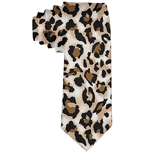 Mode Leopard Drucke Gedruckt Männer 'S Krawatte Neuheit Geschenk Für Hochzeit Schule Krawatte