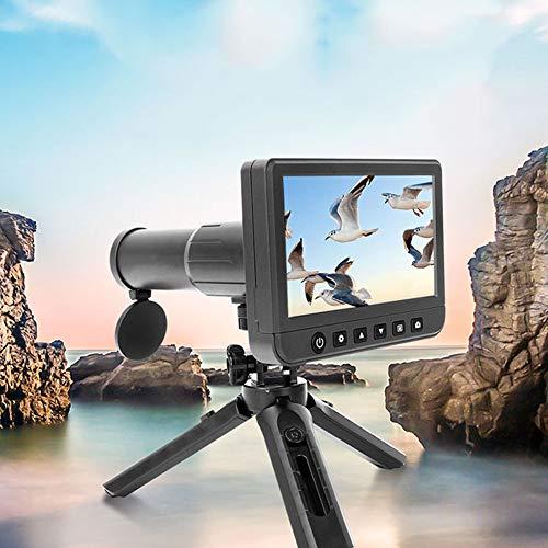 GKD 50X Digital 1080P Monoculares Prismáticos Video Cámara De 5.0 Pulgadas LCD De Fotos Grabadora Telescopio para Observar Aves