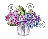 G Crystal Expressions Acrylic 3 inches Flower Hydrangea Posy Pot