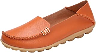 〓COOlCCI〓Women's Loafers & Slip-Ons,Wild Driving Loafers Breathable Walking Shoes Single Shoes Moccasins Flats Shoes