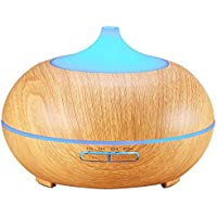 Amir Criacr 300ml Essential Oil Diffusers with 7 Colorful LED Lights