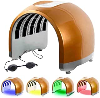 4 Color Light Therapy Mask LED Photon Machine Portable PDT Acne Wrinkle Anti-Aging Facial Care Beauty Treatment for Home Salon Use