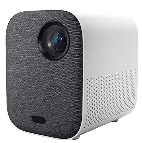 Mini Projector, Portable Pocket Projector with WiFi, Android 7.1, Wireless and Wired Screen Sharing,1080P Video Play, Home Theater Pico Projector for iPhone Android