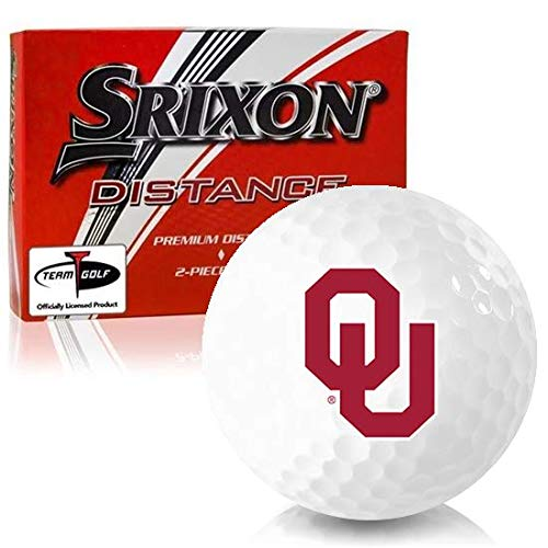 small Srixon Removal Oklahoma Sooners Golf Ball