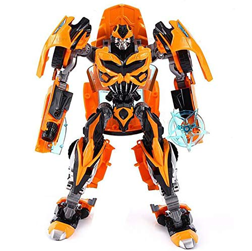 Kiditos Die Cast Metal Transformig Bee Converting Action Figure Robot...