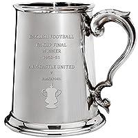 Newcastle United 大型ジョッキ 英語FAカップ優勝者 1950–51, 1pt ピュータージョッキ