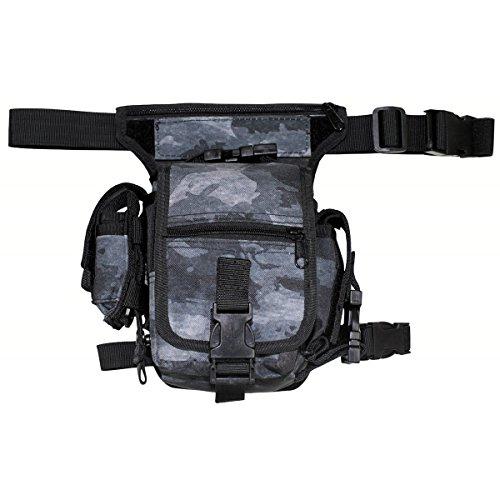 MFH Hip Bag Hüfttasche Outdoor Tasche Softair Beintasche Paintball Gürteltasche viele Farben (HDT-camo LE)