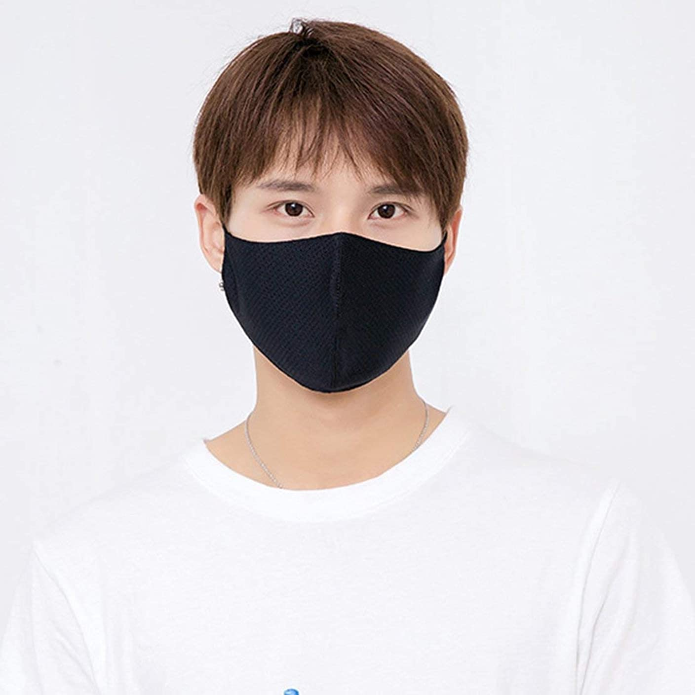 革新構成するレポートを書く夏の薄い日焼け止めアイスシルク口マスク通気性と洗える健康と美容日焼け止めフェイスマスクパーソナルケア製品 (PandaWelly)