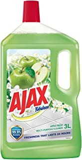 Ajax Fabuloso Floor Cleaner, Apple Fresh, 3L