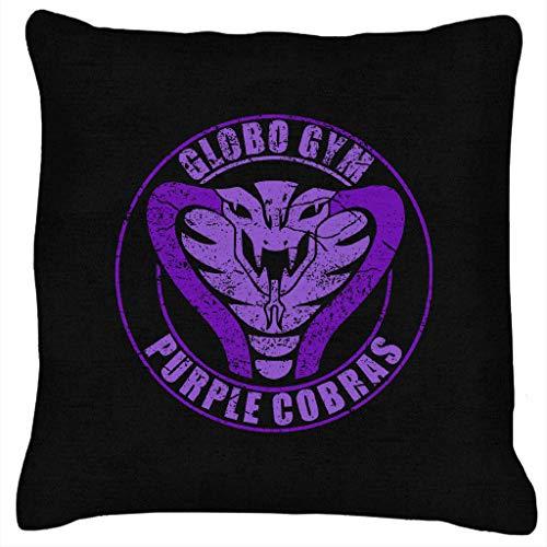 Globo Gym Purple Cobras Logo Dodgeball Cushion