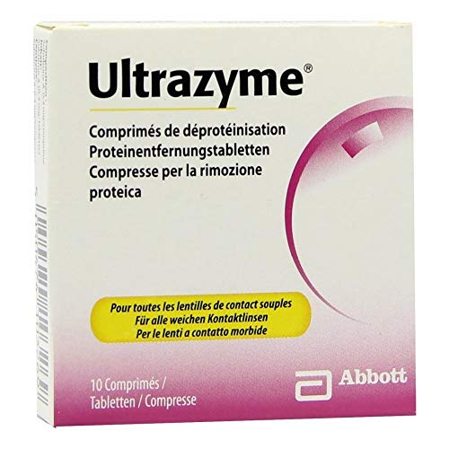ULTRAZYME Protein Entfernungs-Tabl. 10 St