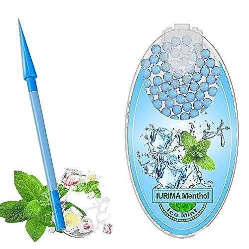 Cápsulas de mentol | 100 piezas de mini menta portátil | Cápsulas de mentol | Cápsulas de mentol | Cápsulas de mentol | con 1 putter