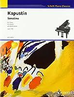 カプースチン:ソナチネ op. 100/川上昌裕による序文付(英語)