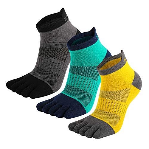 MeiKan calcetines con dedos(2021 nuevo), Calcetines De Deporte para Hombre, Mujer...