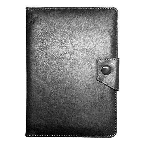 Gioiabazar 7-inch Universal Leather Smart Case Cover Stand for Tablet (Black)