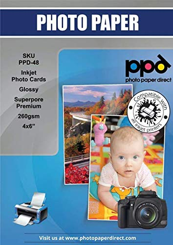 Papel Fotografico 10X15 Brillante Marca PPD