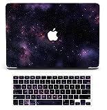 Starry Sky - Funda para ordenador portátil compatible con MacBook Air de 13 pulgadas 2021 2020 Release A2337 M1 A2179, H2R2 Carcasa rígida de plástico con teclado de silicona – Shining Stars 2