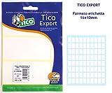 Tico E-1610A . Bolsa de 800 etiquetas