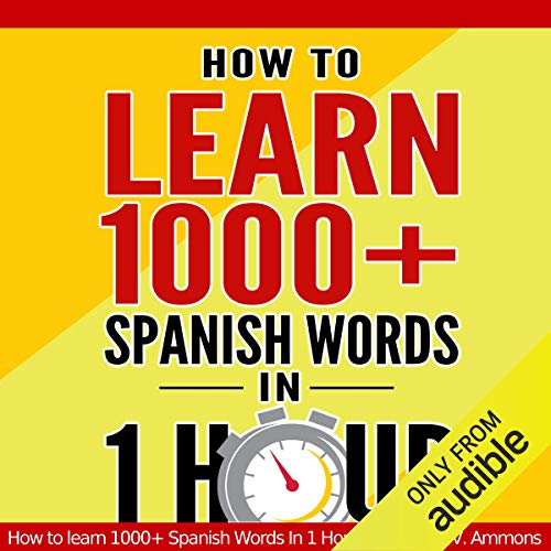 Learn Spanish audiobook cover art