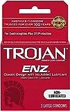 Trojan Regular - Non Lubricated Condoms, 3 Pack