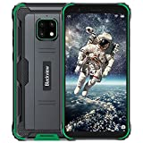 Blackview Rugged Unlocked Cell Phone - New Unlocked Android Smartphone - 32 GB of Storage 3GB RAM- Up to 72 Hour Battery - Just Green