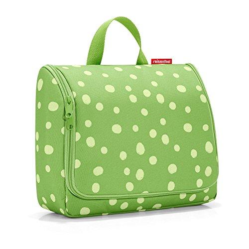 Reisenthel toiletbag XL Trousse de Toilette, 59 cm, 4 liters, Multicolore (Spots Green)