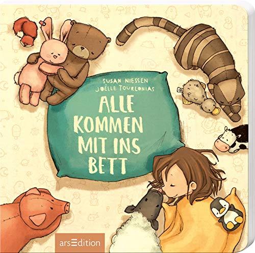 Alle kommen mit ins Bett: Das beliebte Einschlafbuch von der Erfolgsillustratorin Joëlle Tourlonias für Kinder ab 24 Monaten (Einschlafbücher)