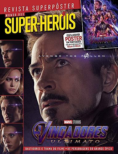 Revista Superpôster - Vingadores Ultimato