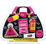 Amscan Women's Survival Kit, Black Pink
