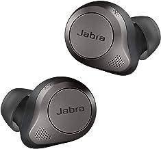 Jabra Elite 85t True Wireless Earbuds, Titanium Black, Small