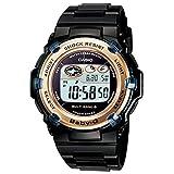 [カシオ] 腕時計 ベビージー 電波ソーラー BGR-3003-1JF ブラック